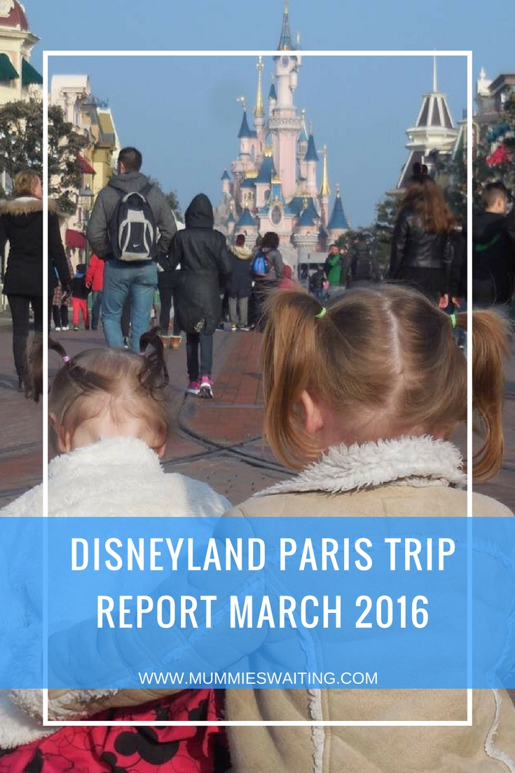 Disneyland Paris Trip Report March 2016
