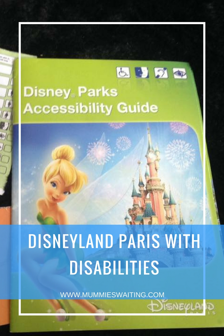 Disneyland Paris with Disabilities