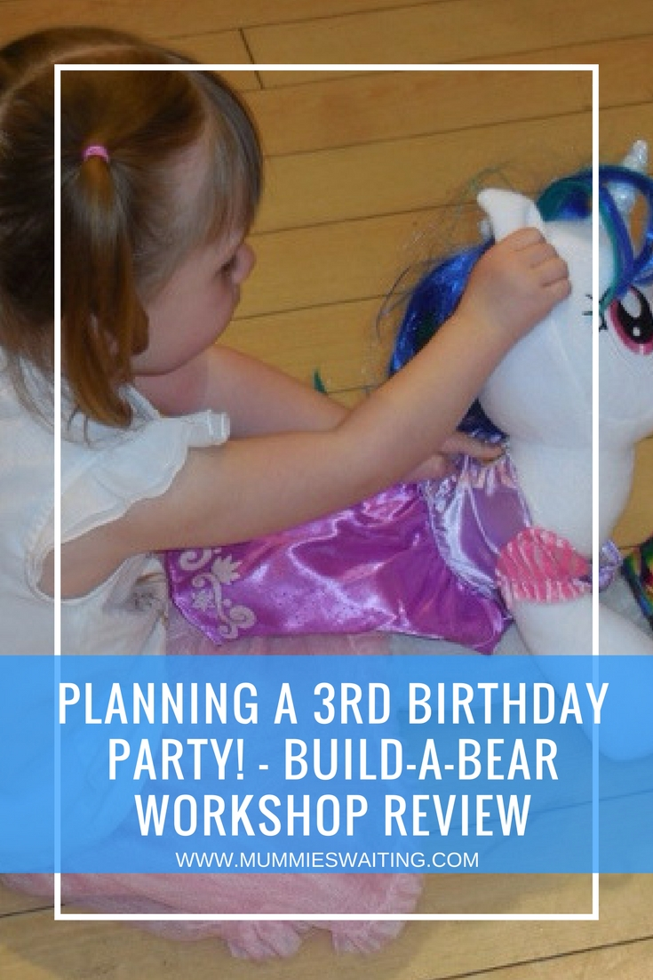 Planning a 3rd birthday party! - Build-a-Bear Workshop Review