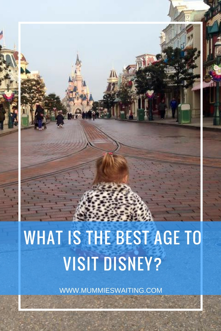 What is the best age to visit Disney?
