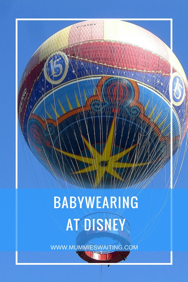 Babywearing at Disney