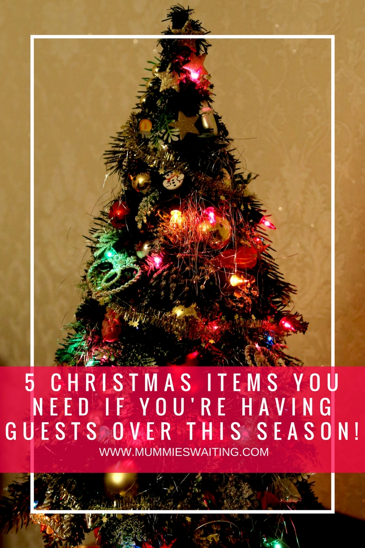 5 Christmas items you need if you're having guests over this season!