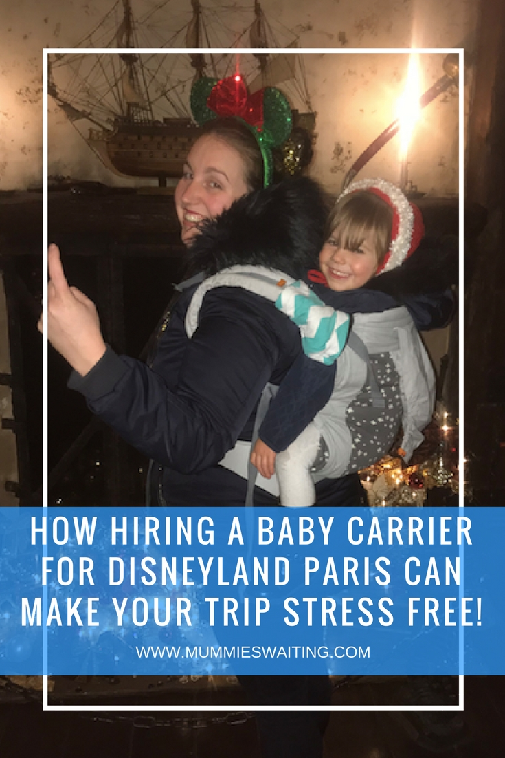 How hiring a baby carrier for Disneyland Paris can make your trip stress free!
