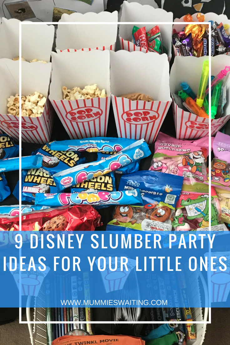 9 Disney Slumber Party Ideas for your little ones