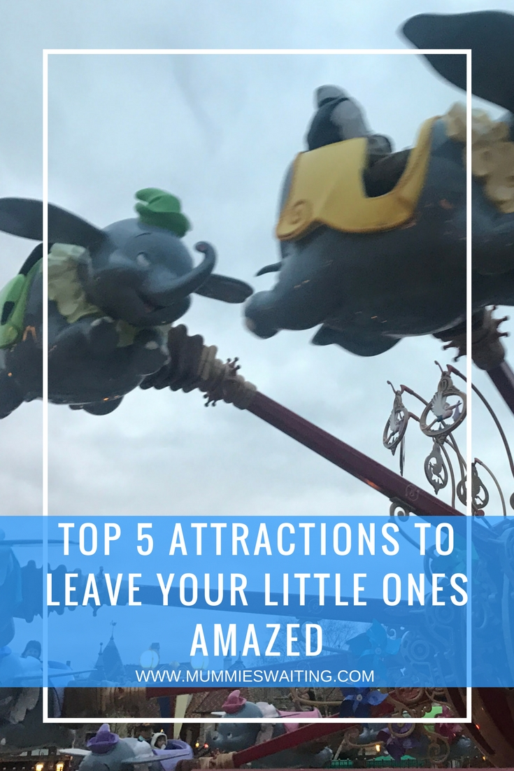 Top 5 attractions to leave your little ones amazed | Disneyland Paris