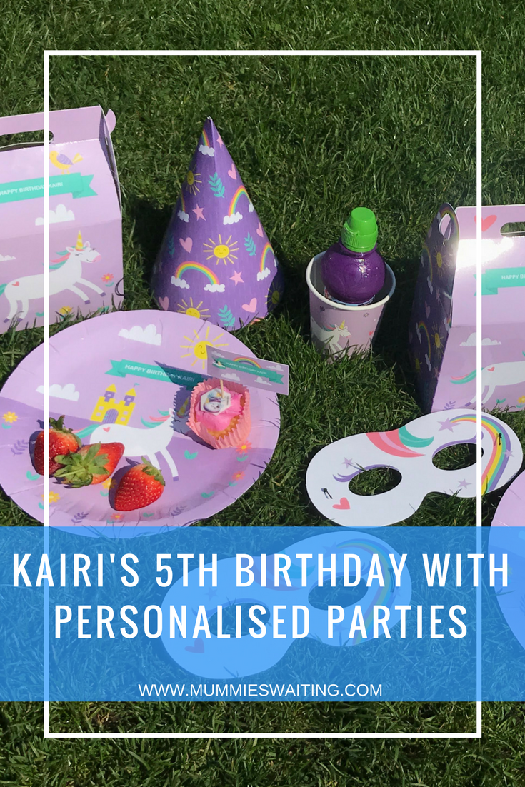Kairi's 5th Birthday with Personalised Parties