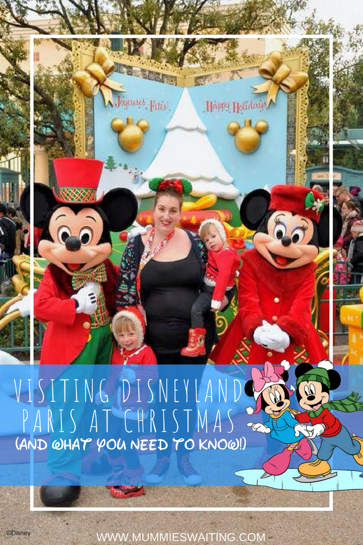 If you are planning on visiting Disneyland Paris at Christmas here's what you need to know!