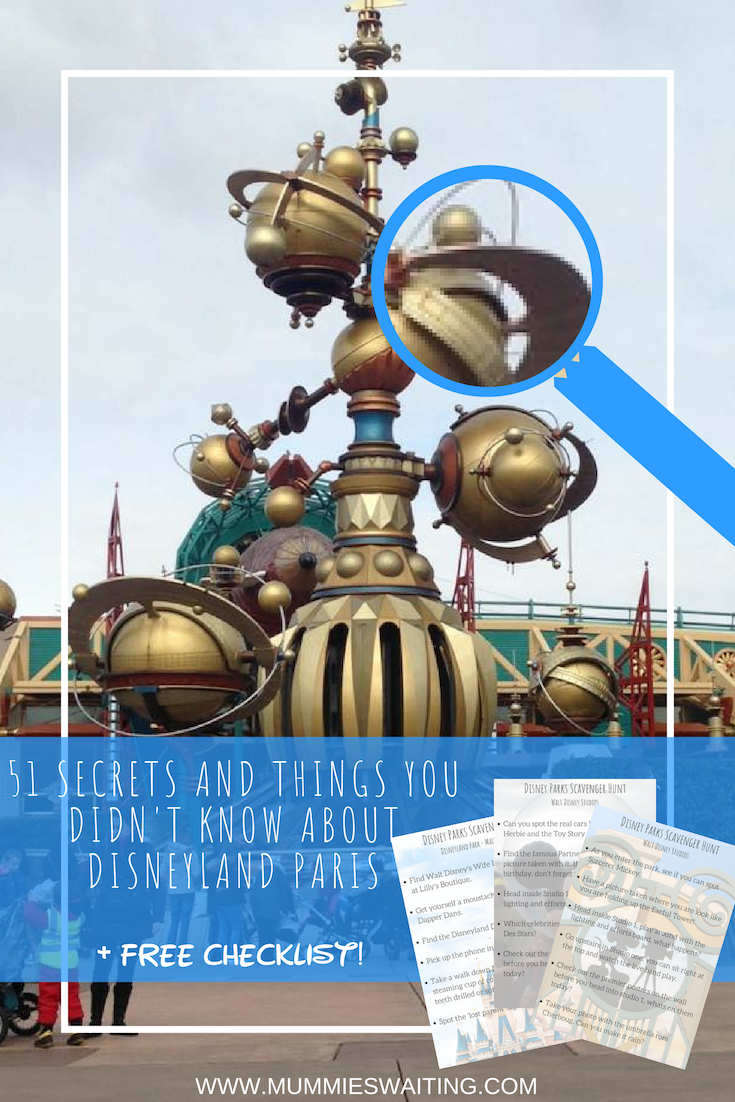 Are you a Disneyland Paris lover? Are you interested in the parks, secrets and all it has to offer? Here is my post 51 SECRETS AND THINGS YOU DIDN'T KNOW ABOUT DISNEYLAND PARIS