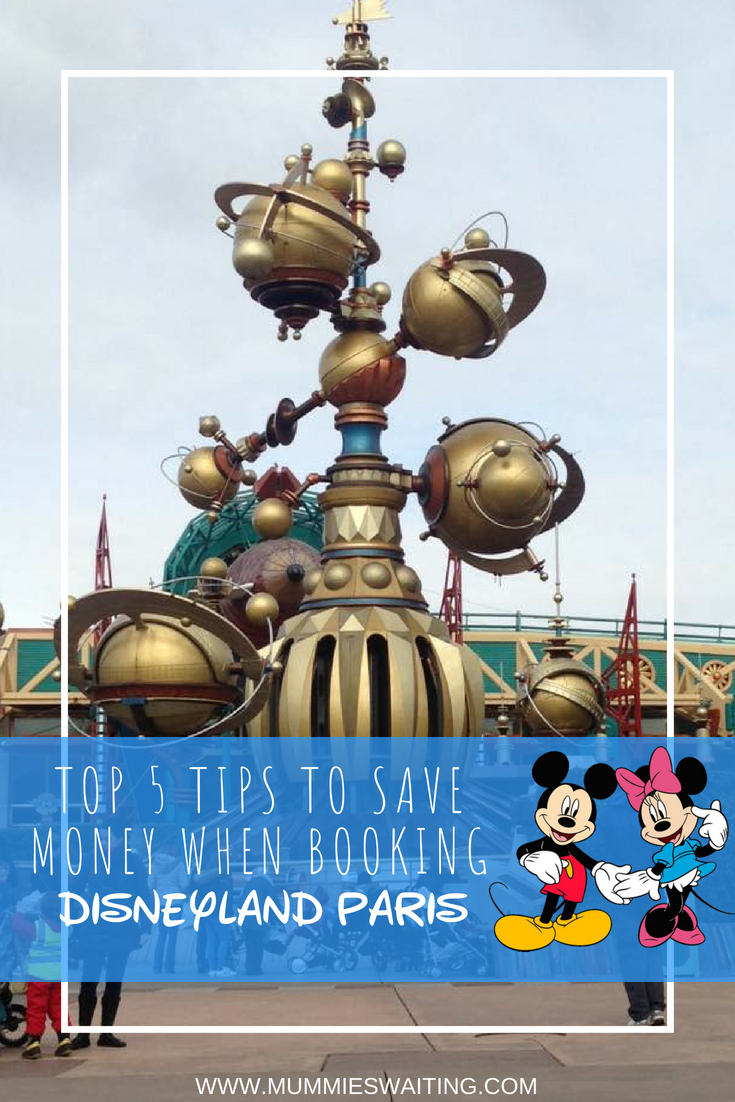 Do you want to book a trip to Disneyland Pairs but have no ideas where to go to get the best deal? You need my top 5 tips to save money when booking Disneyland Pairs