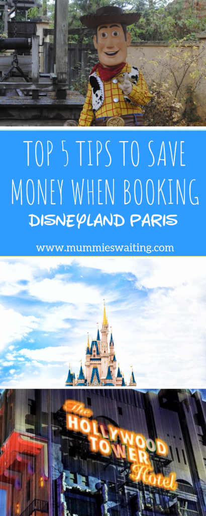 Looking at booking Disneyland Paris this year? Grab my top 5 tips for saving money when booking Disneyland Paris