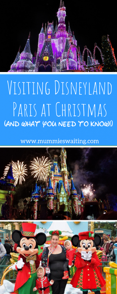 What do you need to know when visiting Disneyland Paris in the Christmas season?