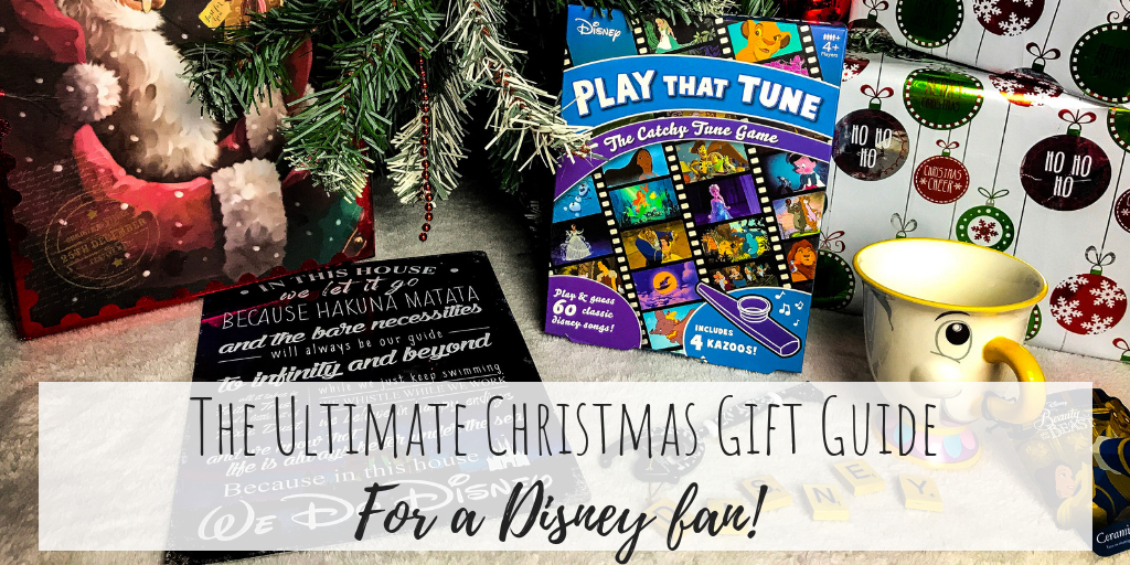 The Ultimate Christmas Gift Guide for a Disney Fan!