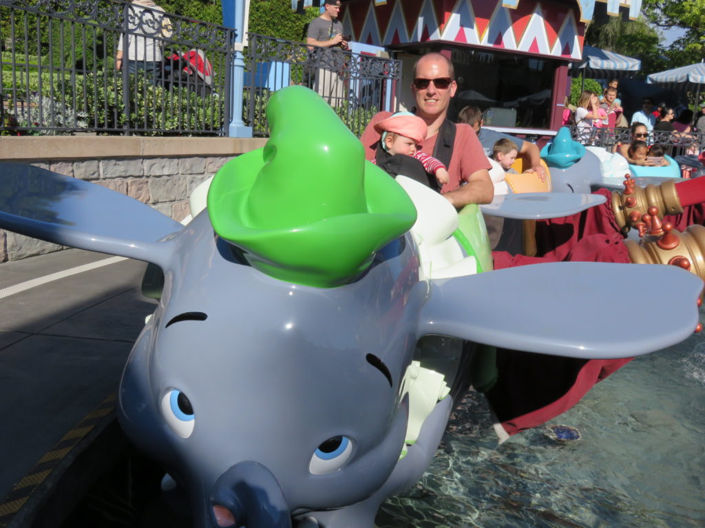Dumbo Disneyland California World for a Girl
