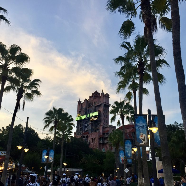 Tower of Terror at Walt Disney World