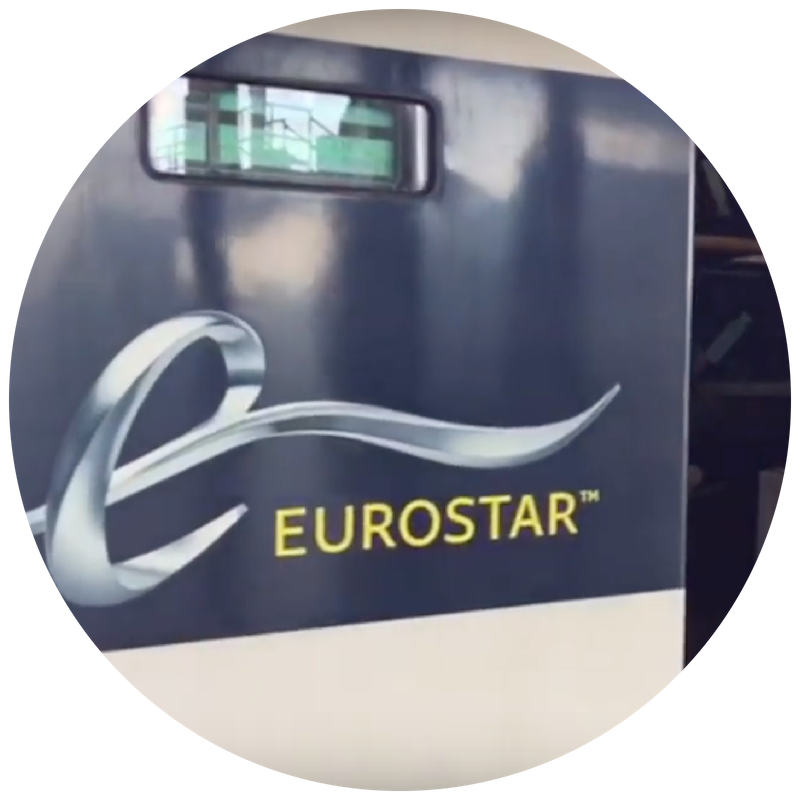 Taking and booking the Eurostar