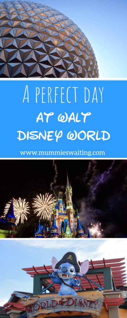 A perfect day at Walt Disney World in the spring