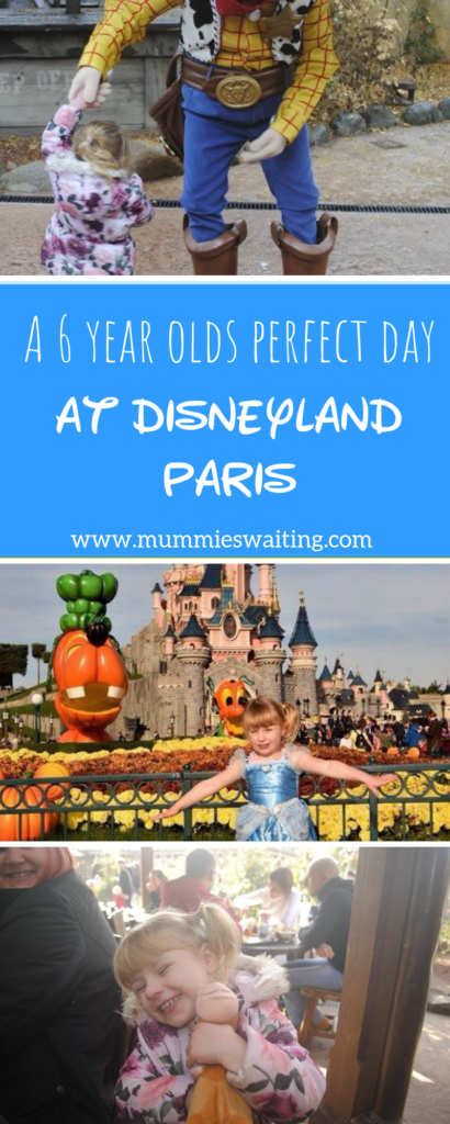 A 6 YEAR OLDS perfect day at Disneyland Paris