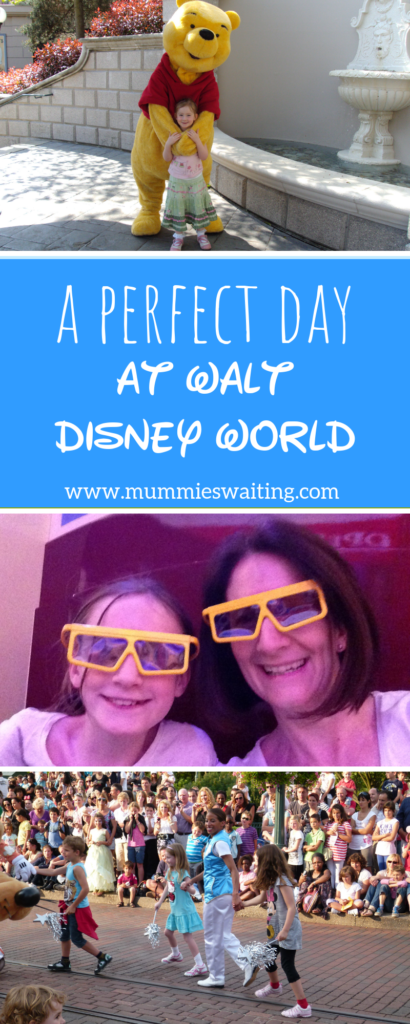 A perfect day at Walt Disney World