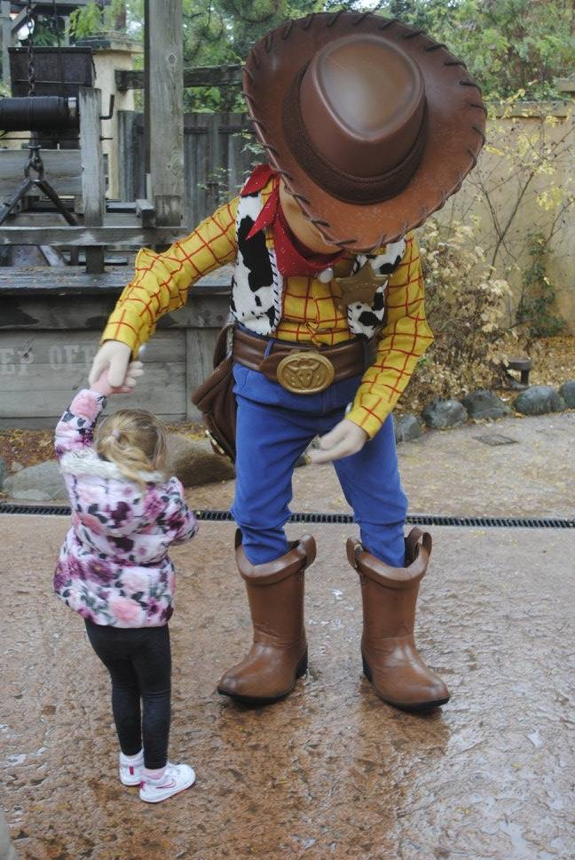 disney woody character meet