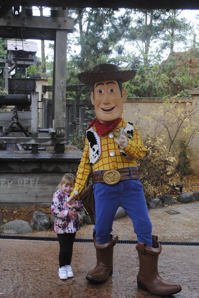 woody toy story disney meet