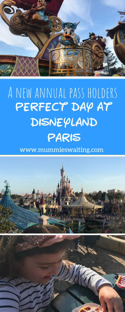 A new annual pass holders perfect day at Disneyland Paris