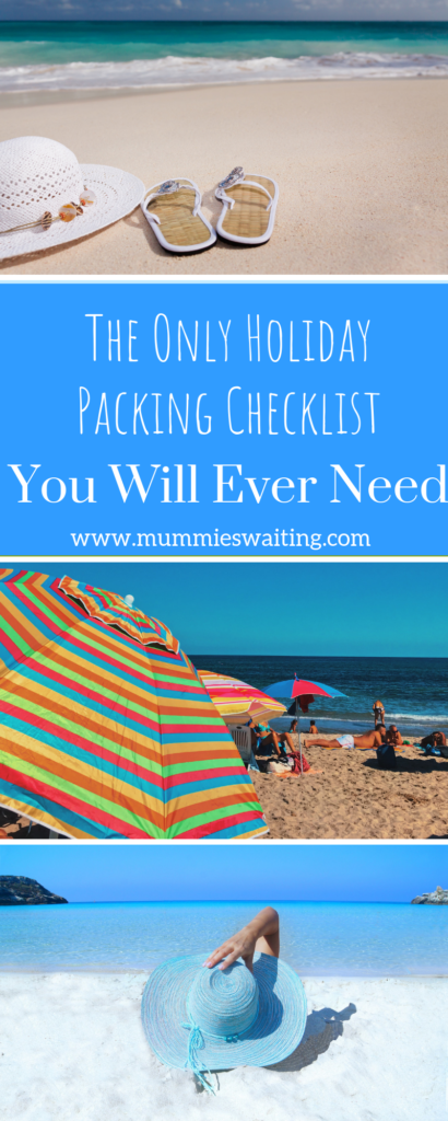 The Only Holiday Packing Checklist You Will Ever Need