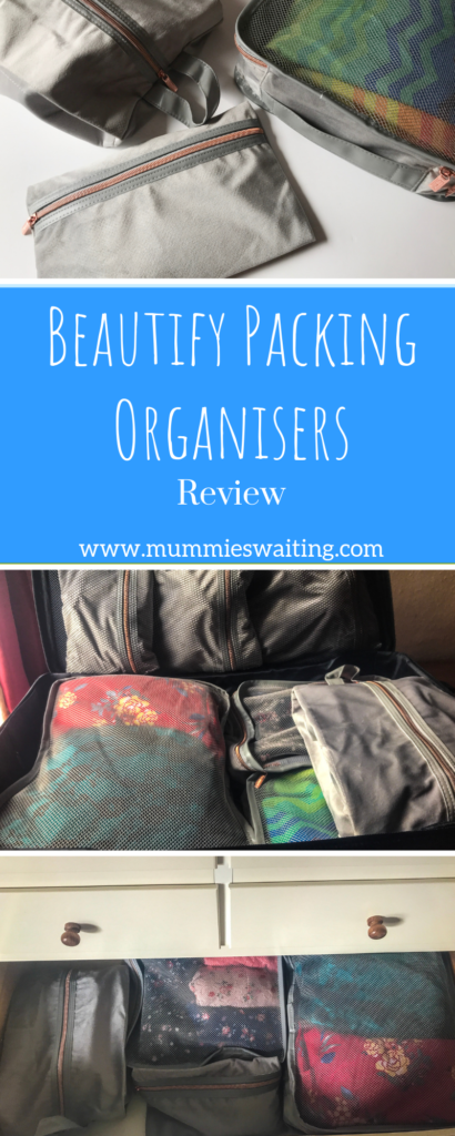 If you are looking for a new way of packing that will save you time and keep your luggage organised then these Beautify Packing Organisers are exactly what you need!