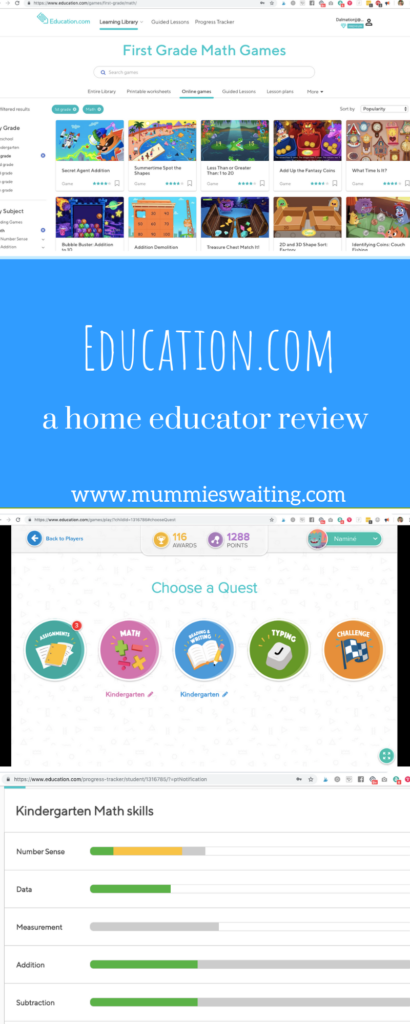 Education.com - a home educator review
