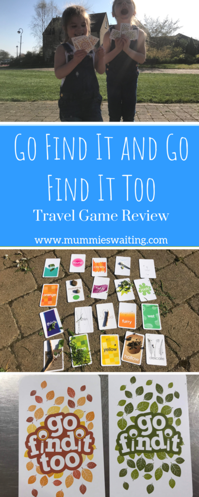 The perfect travel game! Go Find It and Go Find It Too!
