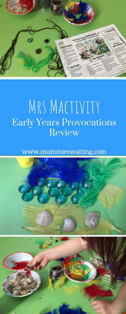 If you are looking for fun and exciting early years provocations, then check out mrs Mactivity!