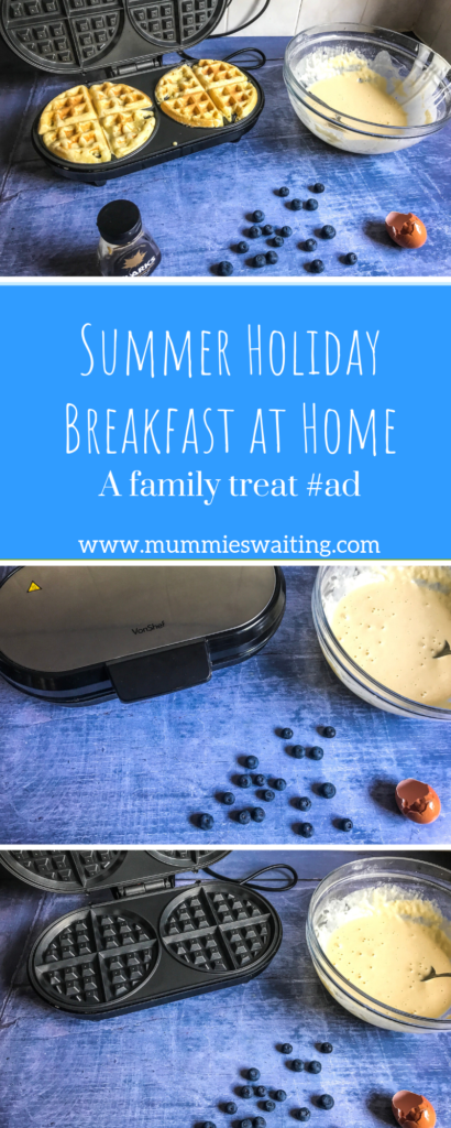 Looking for a delicious Summer Holiday Breakfast at Home? Check out this family treat!