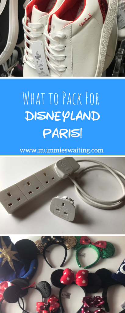 What to Pack For Disneyland Paris - 5 Essentials