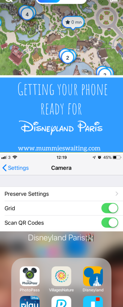 You're off on the most magical trip to Disneyland Paris. When you get there however you have no space for images, you phone battery dies and you can't access the apps you want! Getting your phone ready for Disneyland Paris