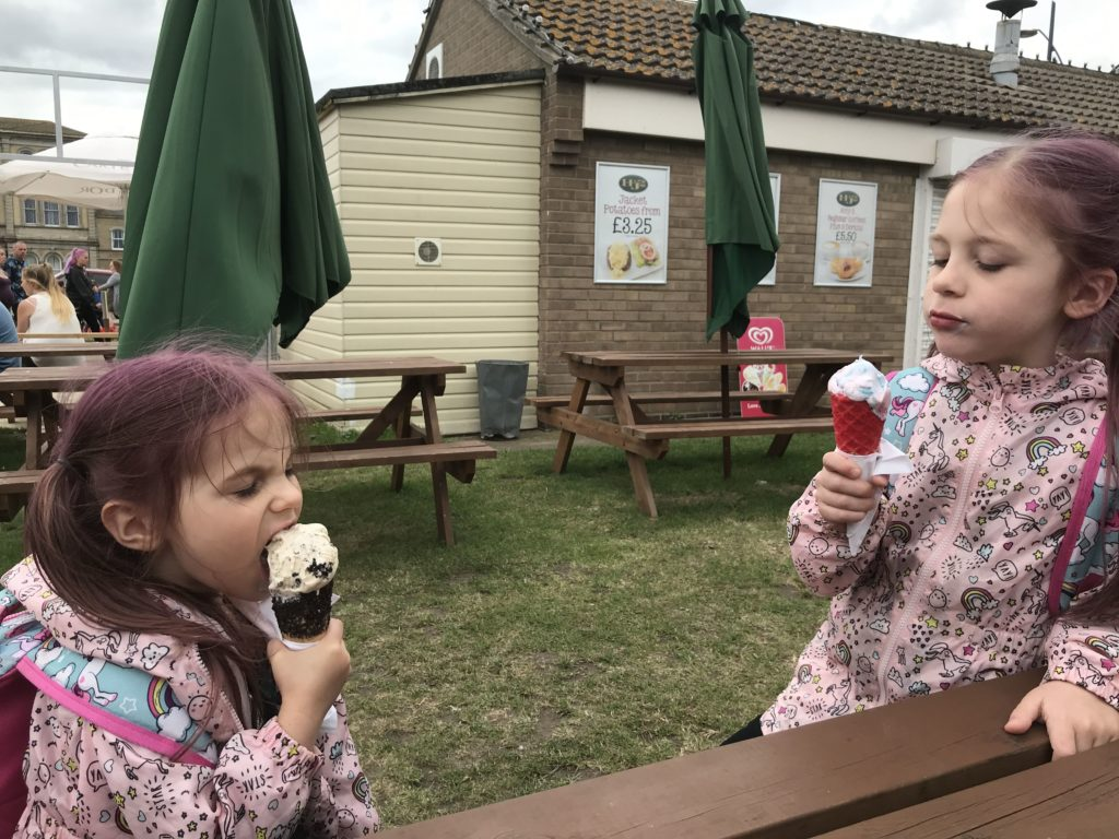 Great Yarmouth Seafront Ice Cream
