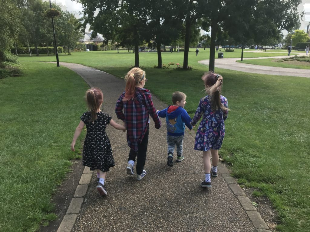 Family time in Ely