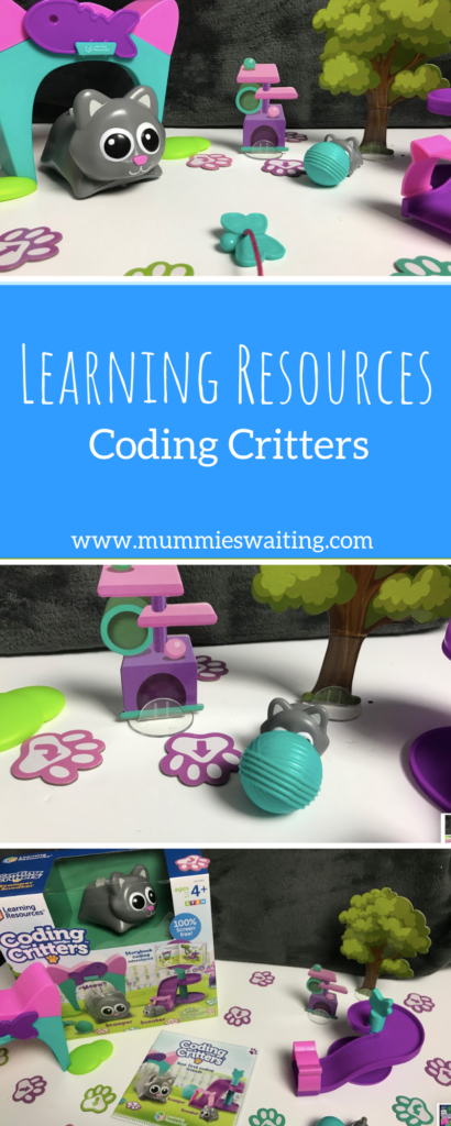 Learning Resources Coding Critters allow children to code in a fun and unique way.  With 3 different animals to choose from (who all come with the cutest side kicks!) kids will be coding in no time.