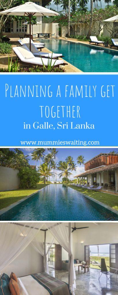 Planning a family get together in Galle, Sri Lanka #ad