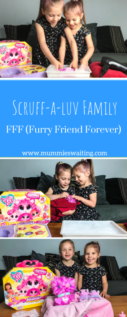 Scruff-a-Luv Families are adorable! They are such a fun toy that kids will love and also a great way to get the conversation open about abandoned pets too!